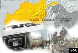 ISIS ha capturado territorios en Afganistán e Irak, además de Siria.