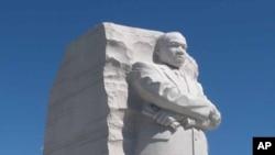 马丁.路德.金纪念雕像