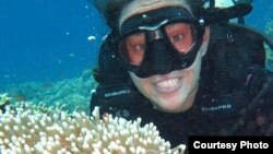 Marine biologist Danielle Dixson has done extensive research on coral reefs.