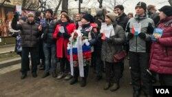 Шествие памяти Станислава Маркелова и Анастасии Бабуровой, Москва, 19 января 2020 г.