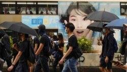 香港银发族警总静坐抗议 全港周日继续遍地开花抗争