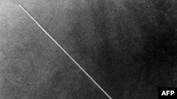 Первый советский «Спутник», запущенный в космос 4 октября 1957 года