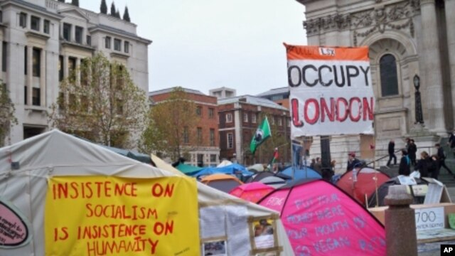 An Occupy London camp