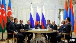 Կազանում ավարտվել է Հայաստանի, Ռուսաստանի և Ադրբեջանի նախագահների միջև հանդիպումը