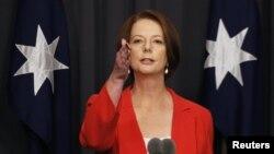 Perdana Menteri Australia Julia Gillard (Foto: dok).