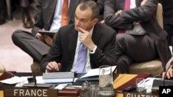 Dubes Perancis untuk PBB, Gerard Araud dalam Sidang DK PBB (Foto: dok). PBB tengah mempertimbangkan rencana untuk mengerahkan pasukan penjaga perdamaian di Mali, Rabu (6/2).