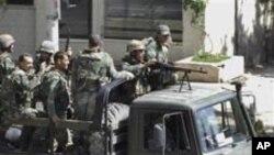 شام میں مظاہرین کے خلاف پر تشدد کارروائیوں کا سلسلہ جاری