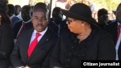 MDC-T leader Thokozani Khupe and MDC Alliance's Nelson Chamisa.