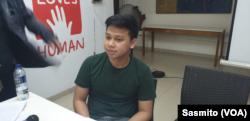 Staf Advokasi KontraS Andi Rizaldi. (Foto: dokumentasi Sasmito)