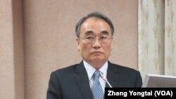 台灣國安局副局長王德麟 (美國之音張永泰拍攝)