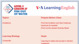 Let's Learn English - Level 2 - Lesson 27