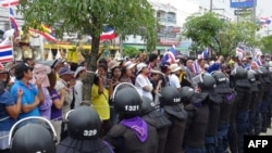 Opposition Rally in Thailand