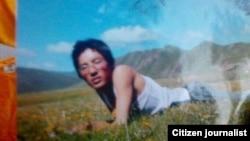 寧格扎西生前照片(當地民眾向美國之音藏語組提供)