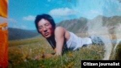 宁格扎西生前照片(当地民众向美国之音藏语组提供)