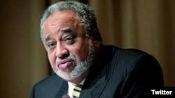 Pengusaha Saudi kelahiran Ethiopia, Sheikh Mohammed Hussein al-Amoudi tampak dalam sebuah foto tidak bertanggal yang di-twit oleh Kantor Perdana Menteri Ethiopia (@PMEthiopia)