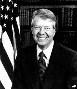 Official White House portrait of President Jimmy Carter (AP Photo/The White House)