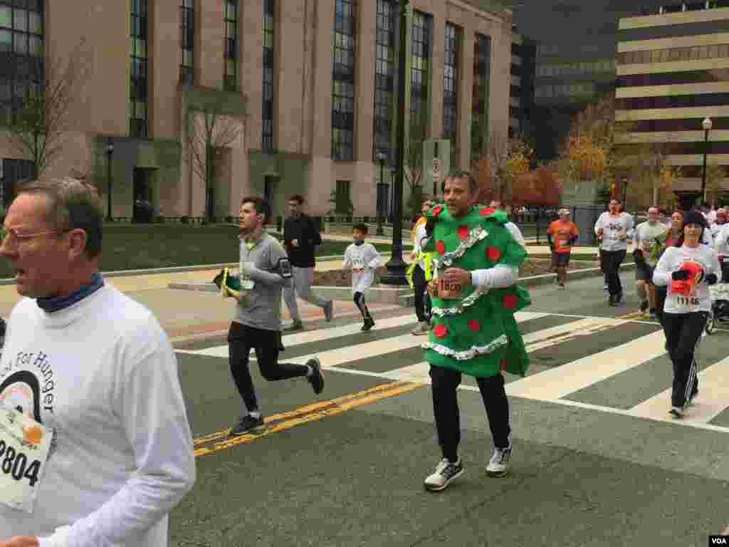 Maratón dedicada a la la lucha contra el hambre en Washington, DC.