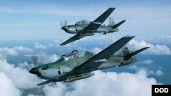 طیاره های A-29 قابلیت حمل بم های سنگین را دارد.