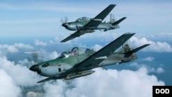 جنگنده های A-29 قدرت حمل ۲۰۰ کیلوگرام مهمات را دارد.