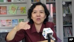 中國婦女問題專家許容(資料照片)
