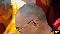 西藏流亡精神领袖达赖喇嘛在台湾