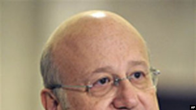 Lebanese Prime Minister-designate Najib Mikati