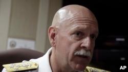 FILE - U.S. Navy Adm. Scott Swift, head of U.S. Pacific Fleet.