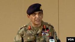 Panglima militer Pakistan, Jenderal Ashfaq Parvez Kayani (foto: dok). Militer Pakistan secara resmi menolak temuan bahwa pasukan Pakistan ikut salah atas terjadinya serangan maut di perbatasan bulan lalu.