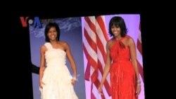 Penampilan Michelle Obama Saat Inaugurasi - Liputan Pop News VOA