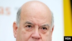 Rankont Prezidan Préval ak Sekretè Jeneral OEA a