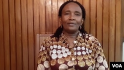 Dra. Margarida Gaspar, pediatra no Hospital David Bernardino em Luanda