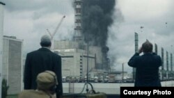 Chernobyl scene from the HBO American television show