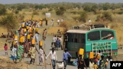 Watu waliokoseshwa makazi Sudan Kusini kutokana na vita vya kaskazini na kusini