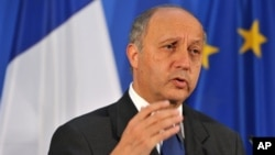 French FM Laurent Fabius (June 2012 photo)