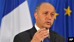 Menteri Luar Negeri Perancis, Laurent Fabius mengatakan Iran mungkin bisa memproduksi senjata nuklir menjelang pertengahan tahun depan (foto: dok).