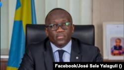 José Sele Yalaguli ministre ya Misolo na Kinshasa, RDC, 7 juillet 2020. (Facebook/Joé Sele Yalaguli)