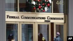 ARCHIVO- Comisión Fderal de Comunicaciones de EE. UU. (FCC). Washington, D. C. 14/12/17.