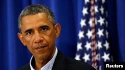 Tổng thống Obama nói về tình hình ở Iraq với các nhà báo từ nơi ông đang nghỉ hè ở Massachusetts