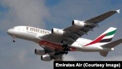 Un Boeing 777 como este cubrirá la ruta Dubai- Ciudad de Panamá de la aerolinea Emirates
