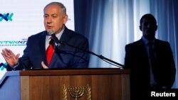 Премьер-министр Израиля Биньямин Нетаньяху, возглавляющий израильскую правящую партию «Ликуд»