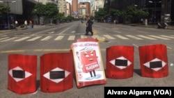 Blokada ulice u Karakasu, 26. jul 2017.