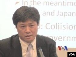 日本東京大學東洋文化研究所松田康博(視頻截圖)