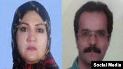 حسن صادقی و فاطمه مثنی، دو زندانی سیاسی