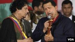 El presidente venezolano Hugo Chávez rehusó hasta ahora reconocer al Consejo Nacional de Transición libio.