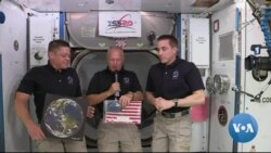 NASA Celebrates Successful American Launch to ISS