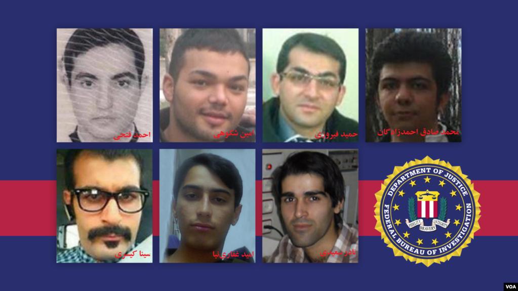 هفت ایرانی مورد تحریم همگی فعالیت سایبری داشته و قبل از این تحت تعقیب افبیآی بوده اند.
