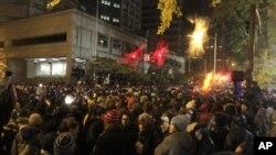 Растерани демонстрантите во Портланд