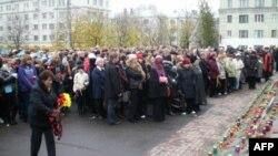 Митинг памяти жертв теракта на Дубровке (26 сентября 2009 г.)