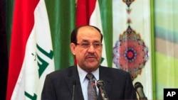 伊拉克总理马利基4月27日在巴格达