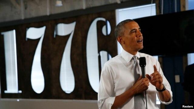 El presidente Barack Obama celebró las nuevas cifras de empleo.
